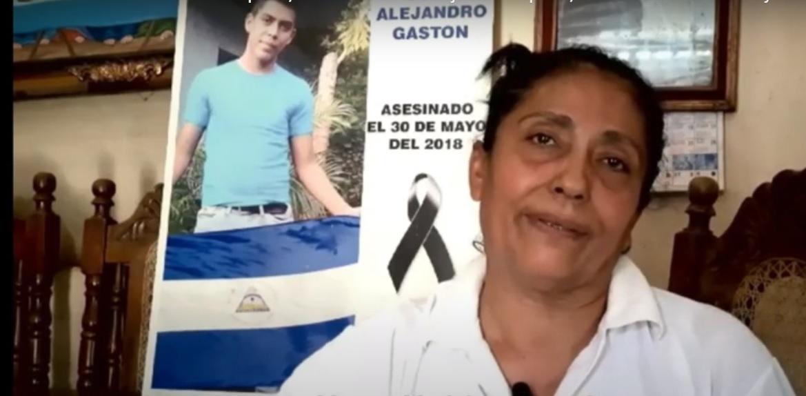 Maria Elena Zapata madre asesinado 300518