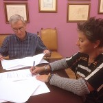 Colectivo Foto y el Instituto de Estudios Albacetenses firman un convenio de colaboración