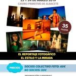 Taller fotográfico con TINO SORIANO «El reportaje fotográfico, el estilo y la mirada»