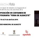 Inauguración de la exposición de fotografías del VII certamen «Feria de Albacete»
