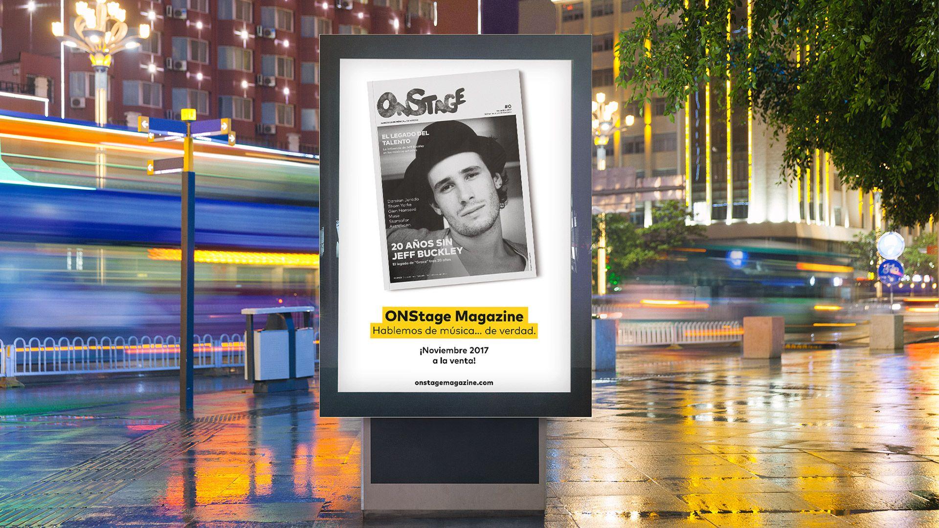 Revista OnStage. © Colectivo Melón