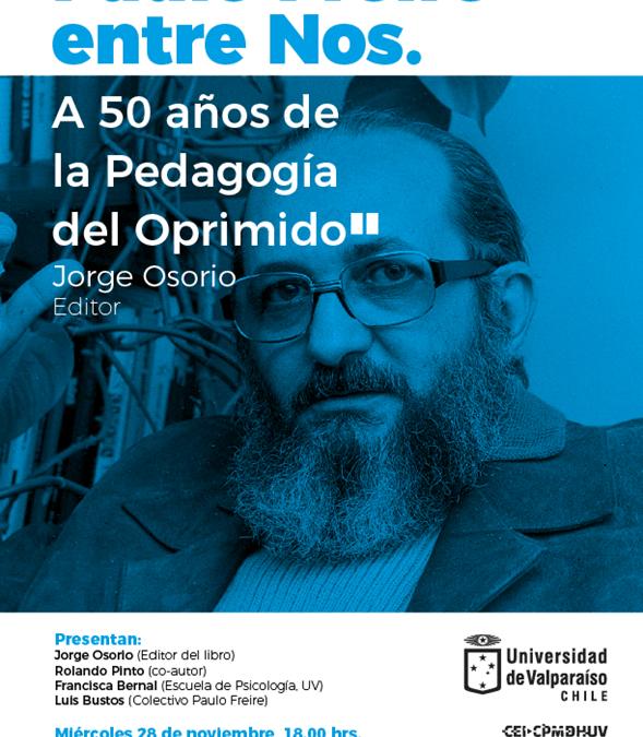 """Lanzamiento libro """"Paulo Freire entre nos"""""""