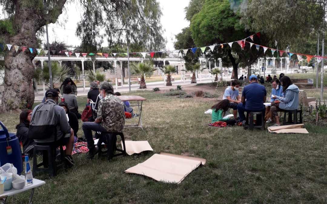 Colectivo Paulo FreireCHILE Realiza Taller Con Asamblea Autoconvocada en Lo Besa