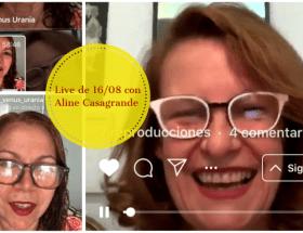 Live Colectivo Venus Urania Aline Casagrande
