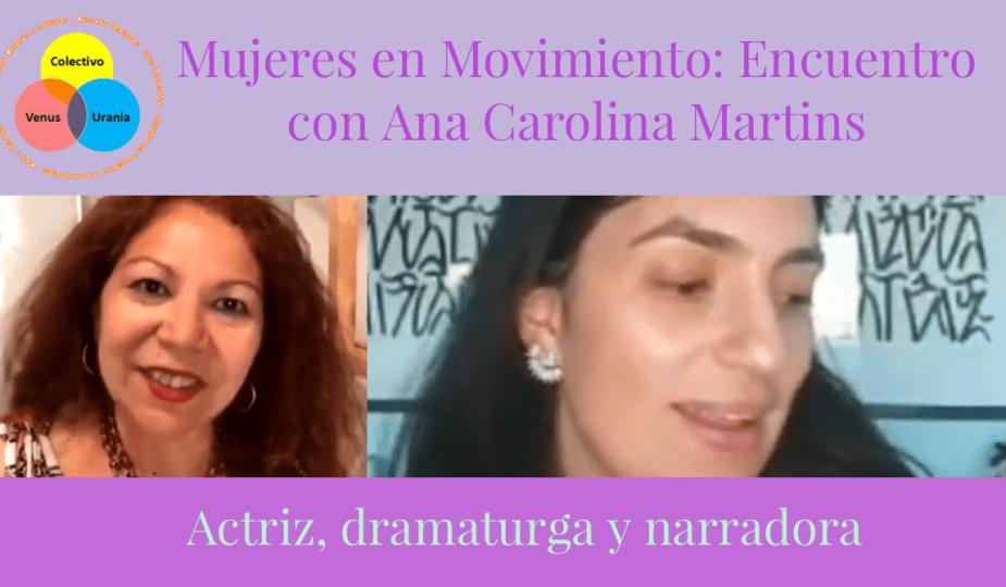 Mujeres en Movimiento   Ana Carolina Martins