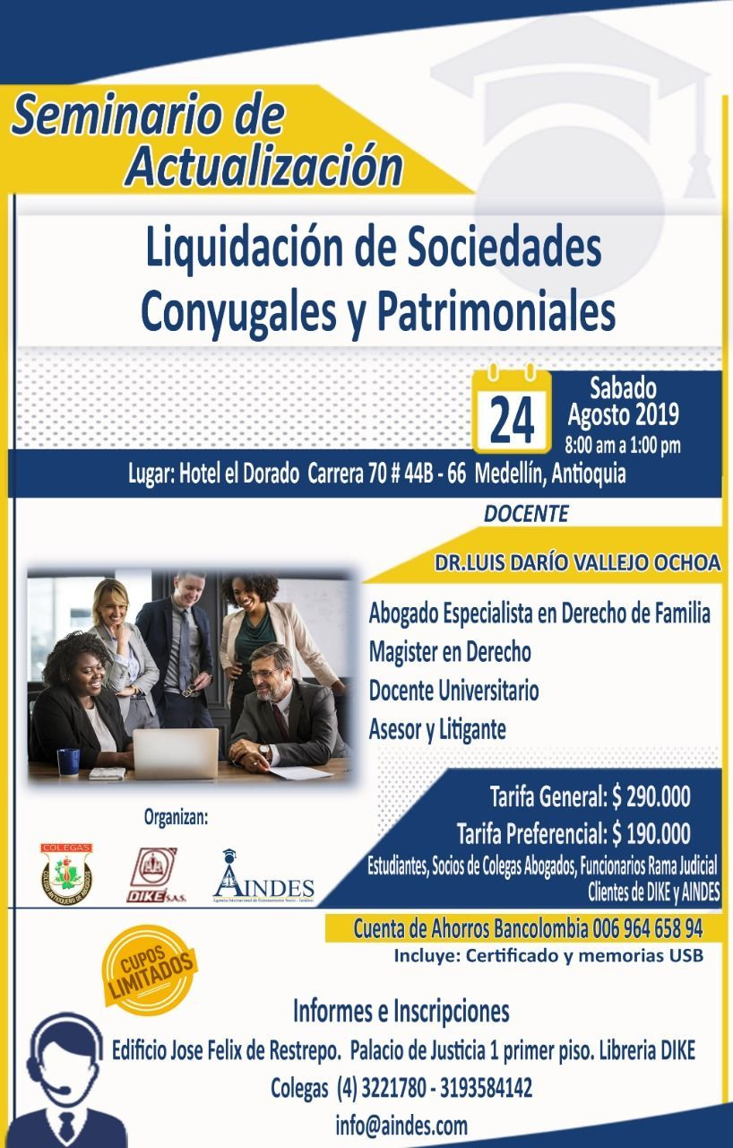 Seminario sobre Liquidacion de Sociedades