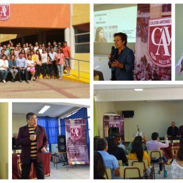 Con las charlas de la Dra. Amanda Céspedes y Jorge Navarrete,  el colegio Antonio Varas inicia sus actividades académicas