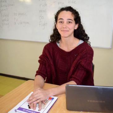 """Tamara Dubose, profesional angloparlante: """"Mi objetivo es que los niños se atrevan a hablar inglés"""""""