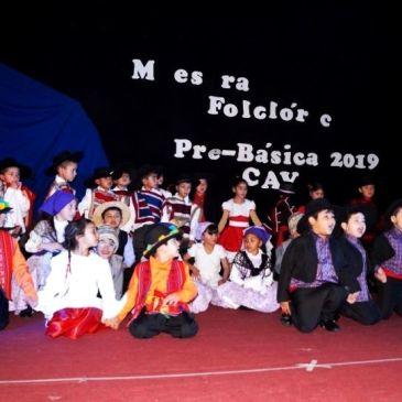 Todo un Éxito Resultó Muestra Folclórica Pre-Básica 2019