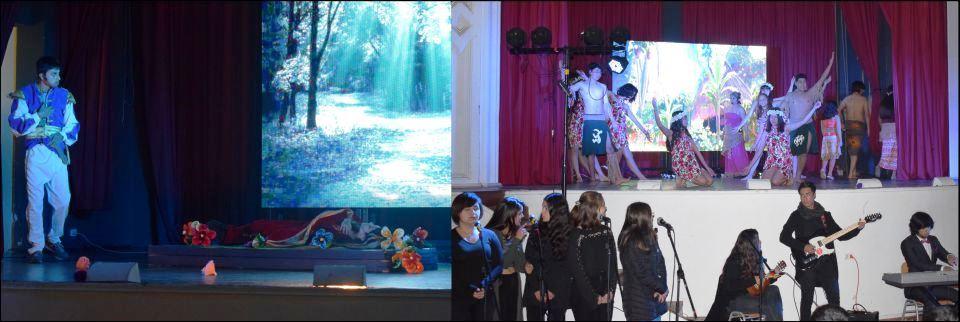 Embajada Cultural Varista se Presentó en La Serena