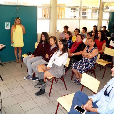 Seremi de Educación se Reúne con Equipo Directivo y Profesores del CAV