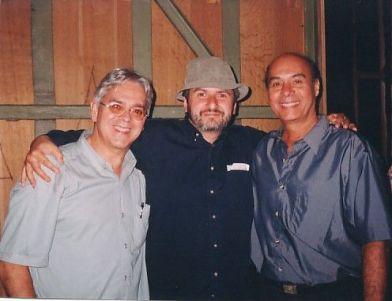 Andrés Posada (Colombia), Boris Alvarado (Chile) y Guido López Gavilán (Cuba) Festival de Música Contemporanea de La Habana, Cuba