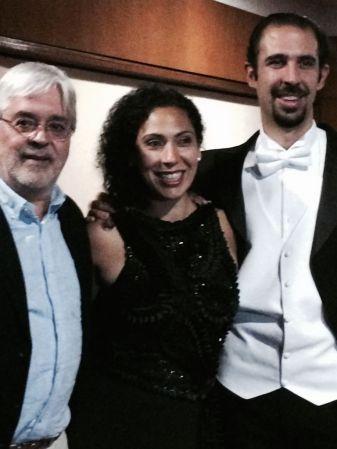 Andrés Posada, Juanita Lascarro y José Alejando Roca