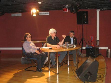 Edgar Valcarcel (Perú), Marlos Nobre (Brasil) y Boris Alvarado (Chile) Festival en Recife, Brasil