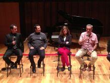 Conversatorio en el intermedio de concierto en L'Auditori de Barcelona