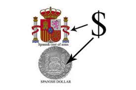 Origen del Dolar en el Escudo de España
