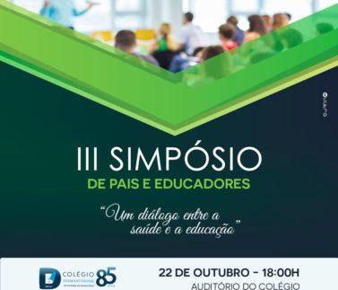 III Simpósio de pais e educadores