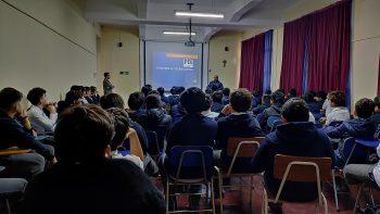 """Charla """"Prevención de Bullying en 6° y 7° básicos"""" Policía de Investigaciones de Chile"""