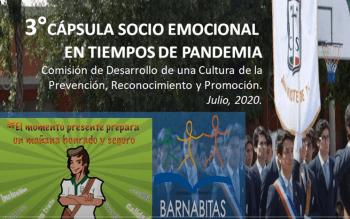 3° Cápsula Apoyo Socio Emocional en tiempos de Pandemia
