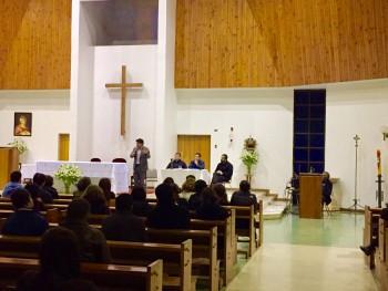 Recibimos la visita de nuestro Padre Provincial y presidente de la Fundación Educacional Colegio El Salvador