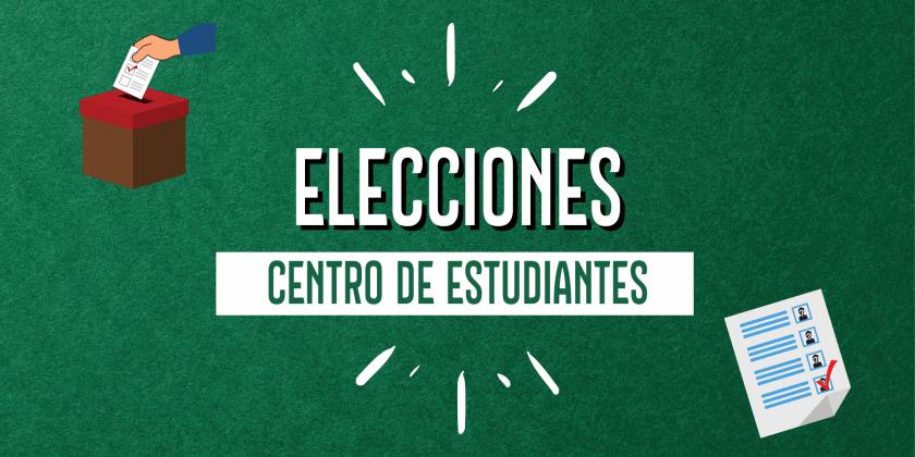ELECCIONES CENTRO DE ESTUDIANTES