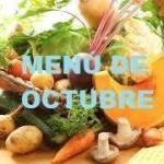 menu octubre