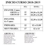 PRESENTACIÓN CURSO 2018-19