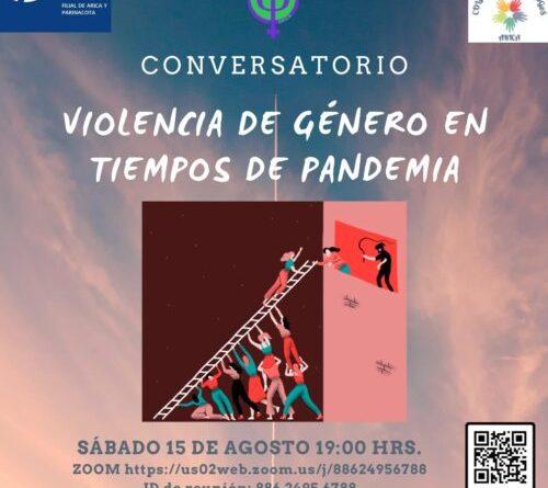 CONVERSATORIO: VIOLENCIA DE GÉNERO EN TIEMPOS DE PANDEMIA