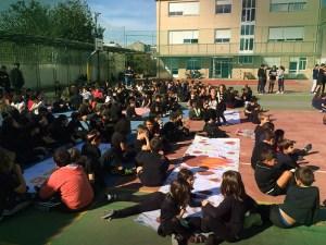 actividad magosto colegio San Fernando vigo