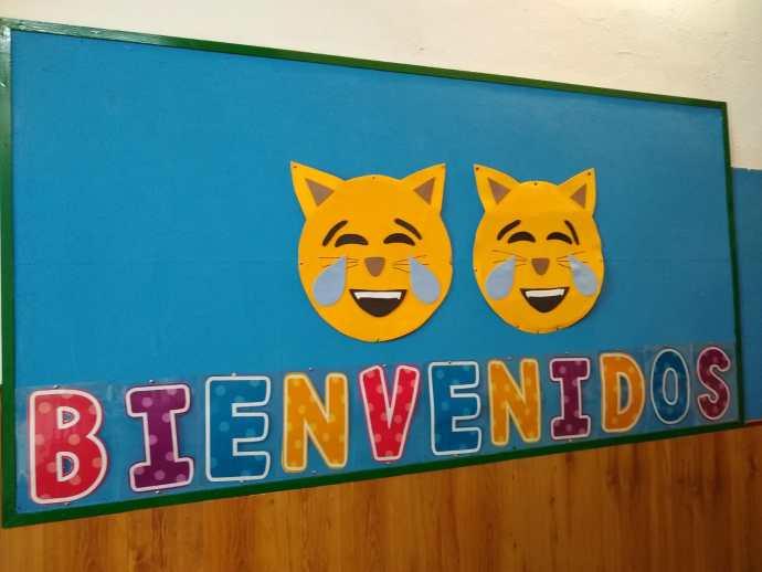 bienvenidos al colegio San Fernando Vigo