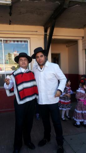 Profesor Alejandro e Ignacio