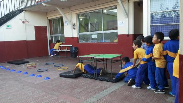 Circuito en Educación física