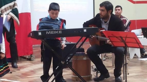 Debut de Dilán Adasme del taller de piano...