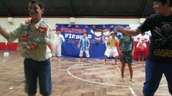 Baile pascuense de 6to básico