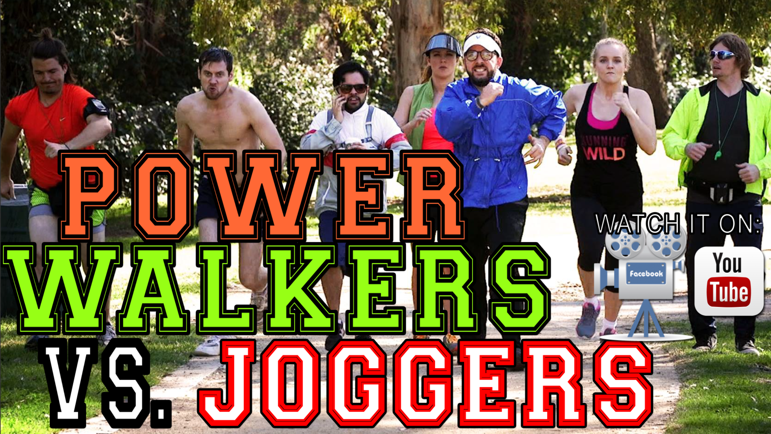 New Sketch Comedy VID: Power Walkers Vs. Joggers