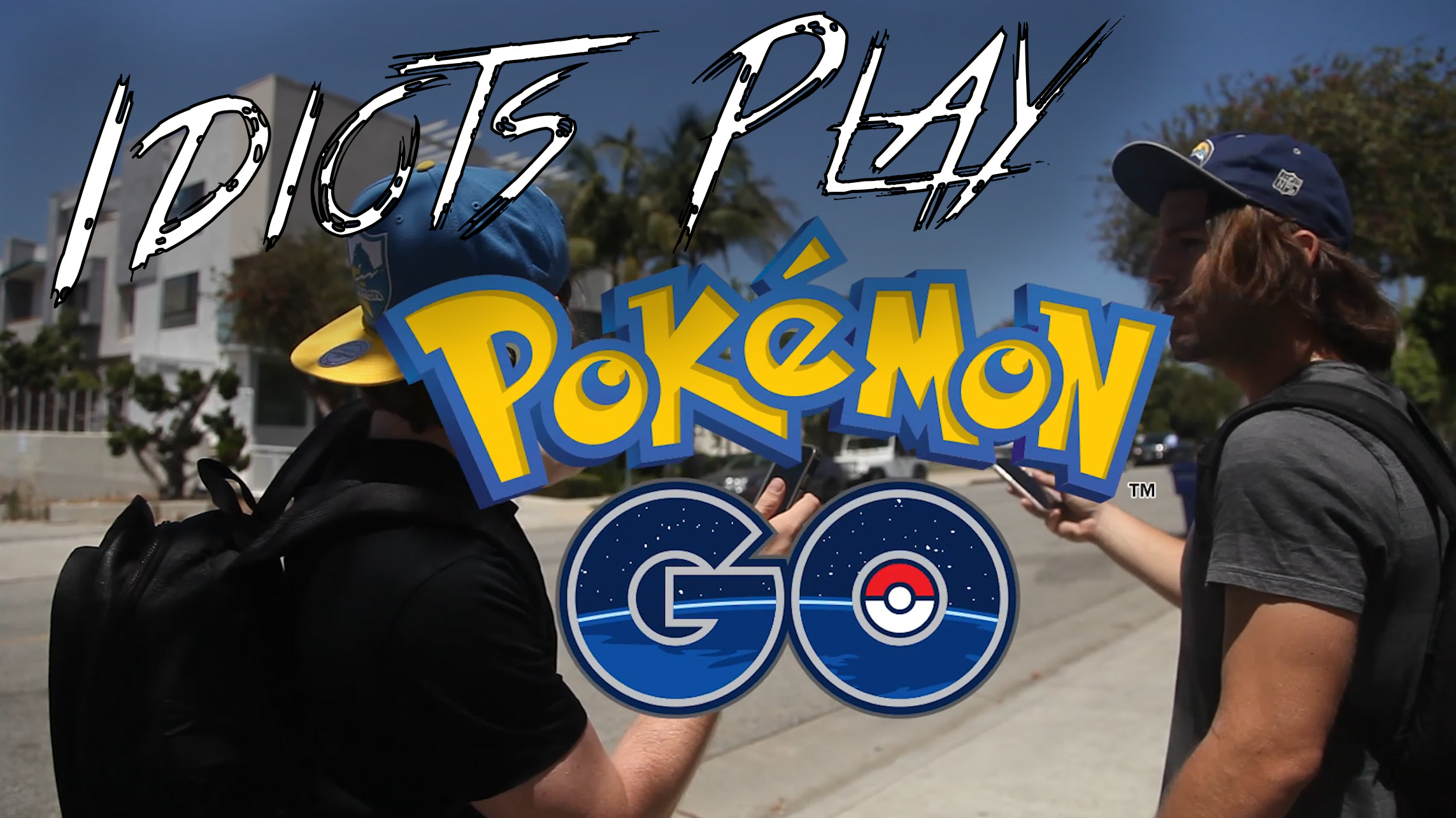 New comedy Sketch – Idiots Play Pokémon Go (Most Epic Catch in Pokémon Go so Far!)