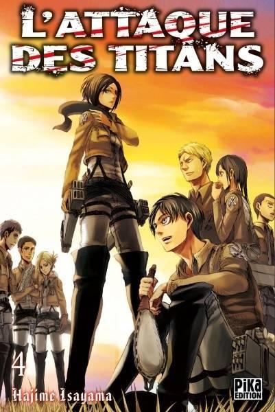 L'attaque Des Titans, Tome 3 : l'attaque, titans,, Manga, L'attaque, Titans