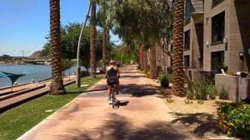 Bike at Tempe Town Lake