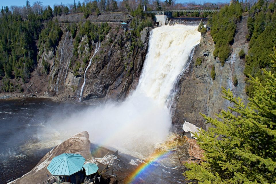 Romantic Getaways In Tennessee Quebec Bike Tour - The Best Way To Visit Montmorency Falls