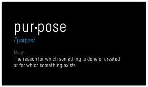 purpose encouragement motivation