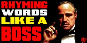 Rhyming Words Like A BOSS!