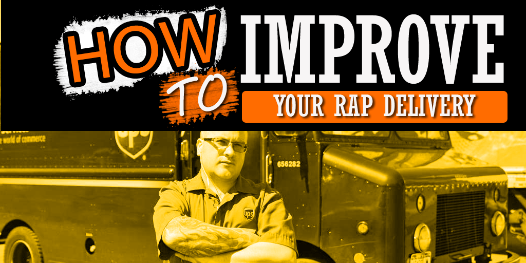 how to improve rap delivery