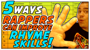 5 Ways Rappers Can Improve Rhyme Skills