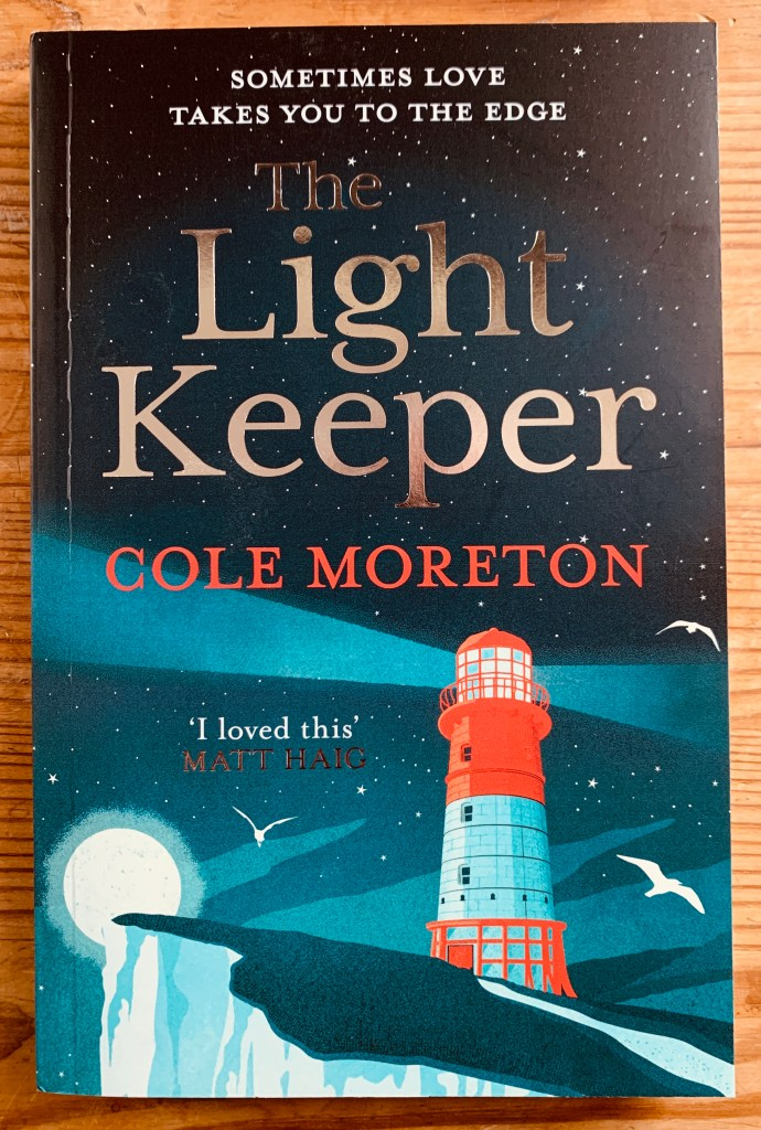 Books by Cole Moreton The Light Keeper cover