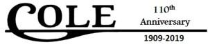 Cole Motor Company 110th Anniversary