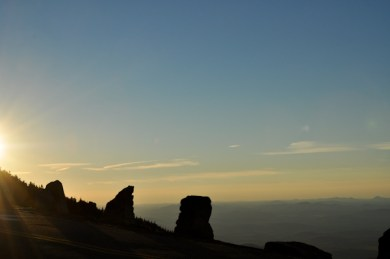 Sunset over the Adirondacks