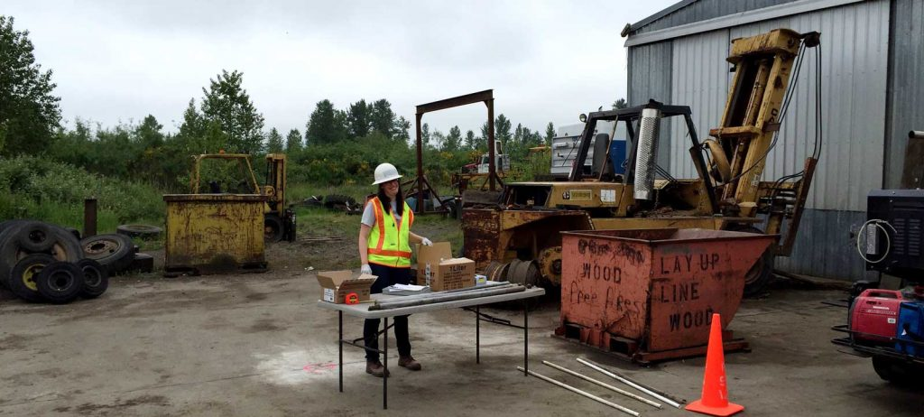 environmentally contaminated site investigation by Jill Betts