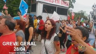 Greve Geral - Ipatinga (Imagem J. BILT)