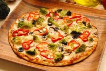 Thin-based pizza