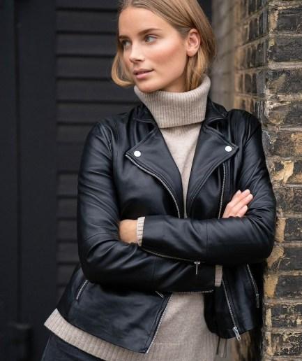 FrancesPW zip Leather Jacket Part Two